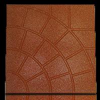 Резиновая плитка 300*300, 30 мм. Паутинка