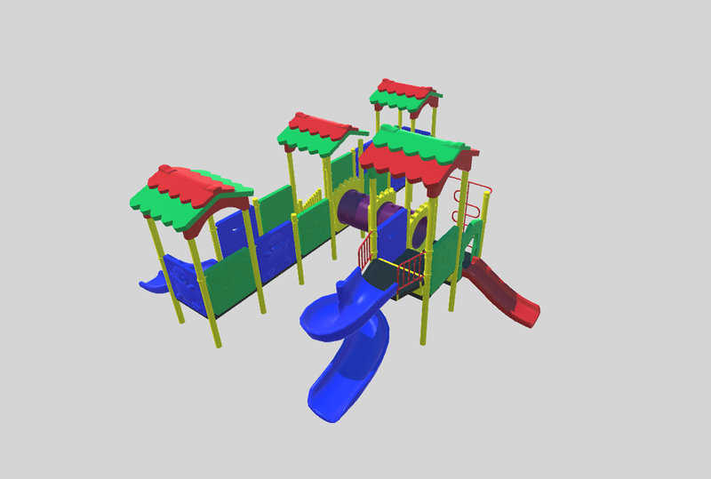 Детский игровой комплекс Алтын Сарай