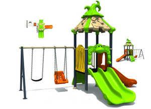 Игровой детский комплекс горка Джунгли