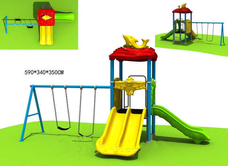 Игровой комплекс для детей Дельфин