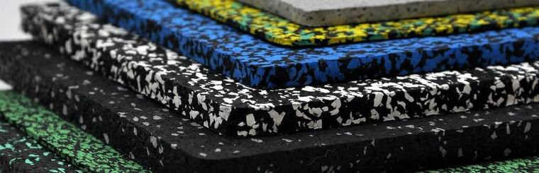 Резиновое покрытие EcoStep для тренажерных залов